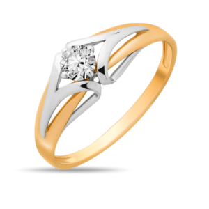Кольцо - Фианит, 16