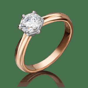 Кольцо - Фианит, 18
