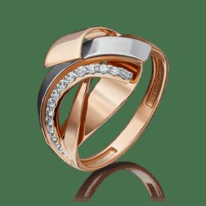 Кольцо - Фианит, 17,5